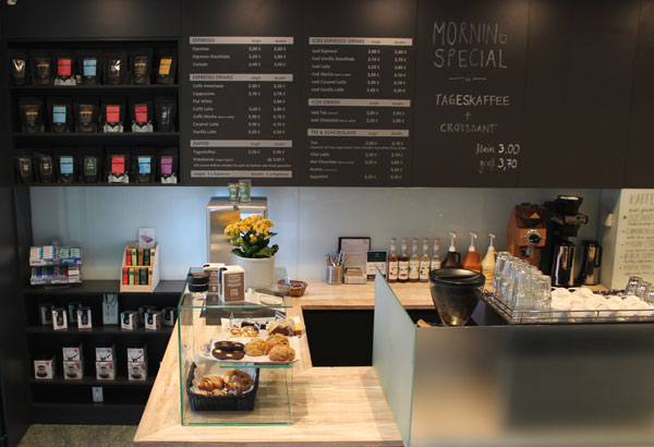 the coffee shop | taste the difference | Werderscher Markt 1 | 10117 Berlin